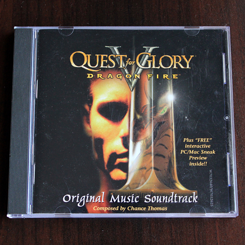 Quest For Glory V: Dragon Fire ~ Original Music Soundtrack